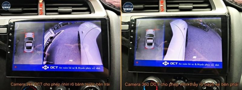 Camera 360 DCT cao cấp cho dòng xe Honda (chính hãng, giá tốt)