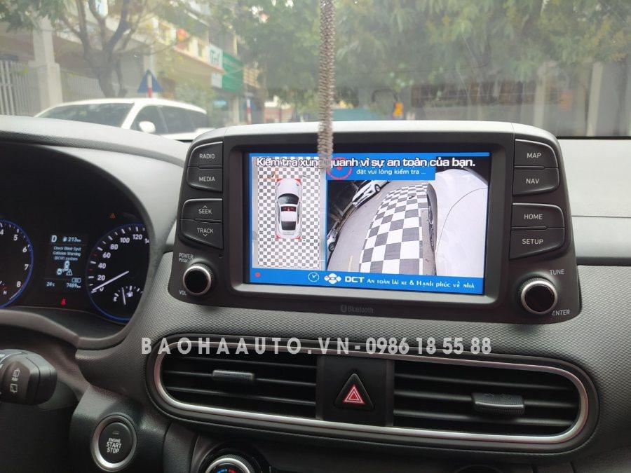 Camera 360 DCT cao cấp cho dòng xe Hyundai (chính hãng 100%)