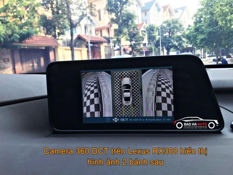 Camera 360 DCT cao cấp cho dòng xe Lexus