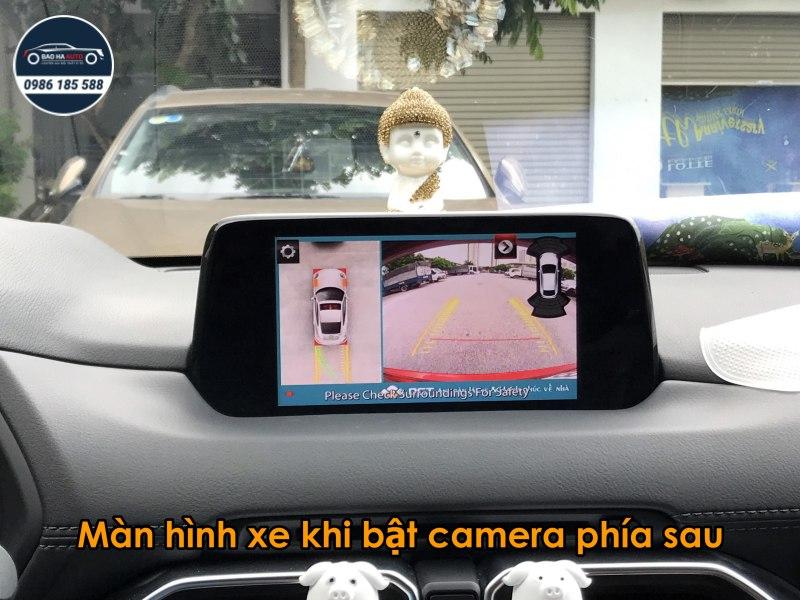 Camera 360 DCT cao cấp cho dòng xe Mazda (chính hãng, giá tốt)