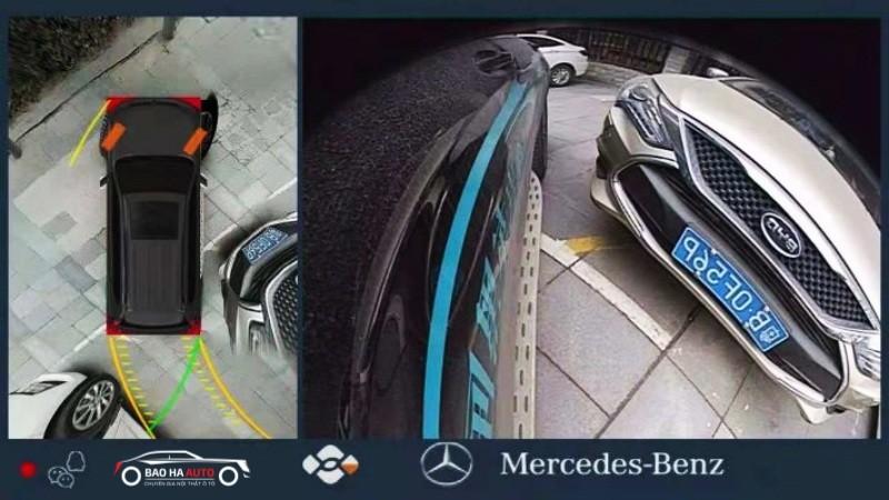 Camera 360 DCT cao cấp cho dòng xe Mercedes (chính hãng 100%)