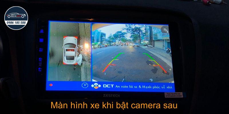 Camera 360 DCT cho dòng xe Vinfast