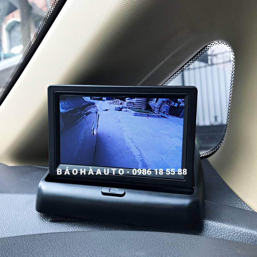 Camera cập lề quan sát lề ô tô(không khoan gương, không đấu điện)