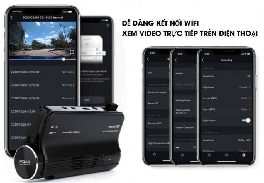 Camera hành trình Iroad X10 Hàn Quốc: Tính năng & Báo giá chi tiết