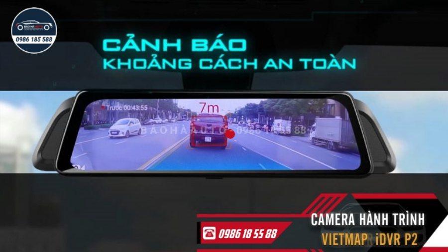 Camera hành trình ô tô Vietmap iDVR P2 – Báo giá lắp đặt chi tiết