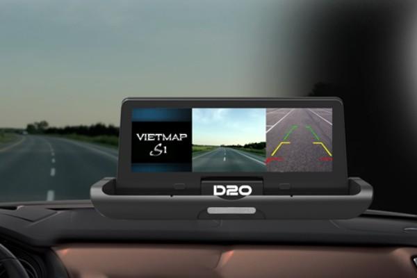 Camera hành trình Vietmap D20 – Phiên bản màn hình taplo tự động gập