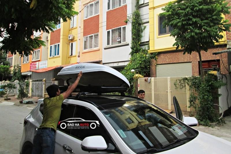 Cốp nóc cho xe Hyundai SantaFe |Hàng nhập chính hãng siêu bền