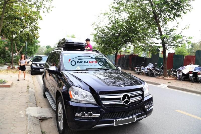 Cốp nóc cho xe Mercedes GL | Hàng nhập chính hãng