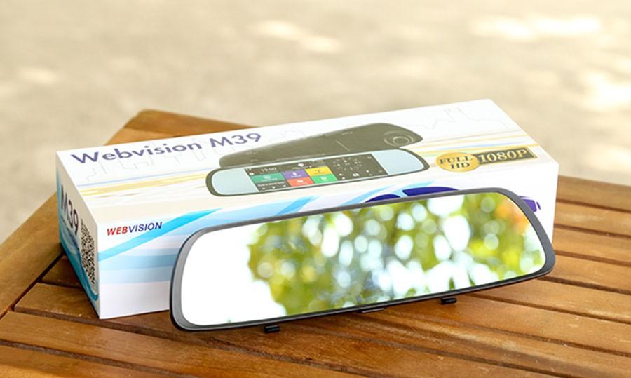 Đánh giá camera hành trình WebVision M39 và WebVision N93 Plus