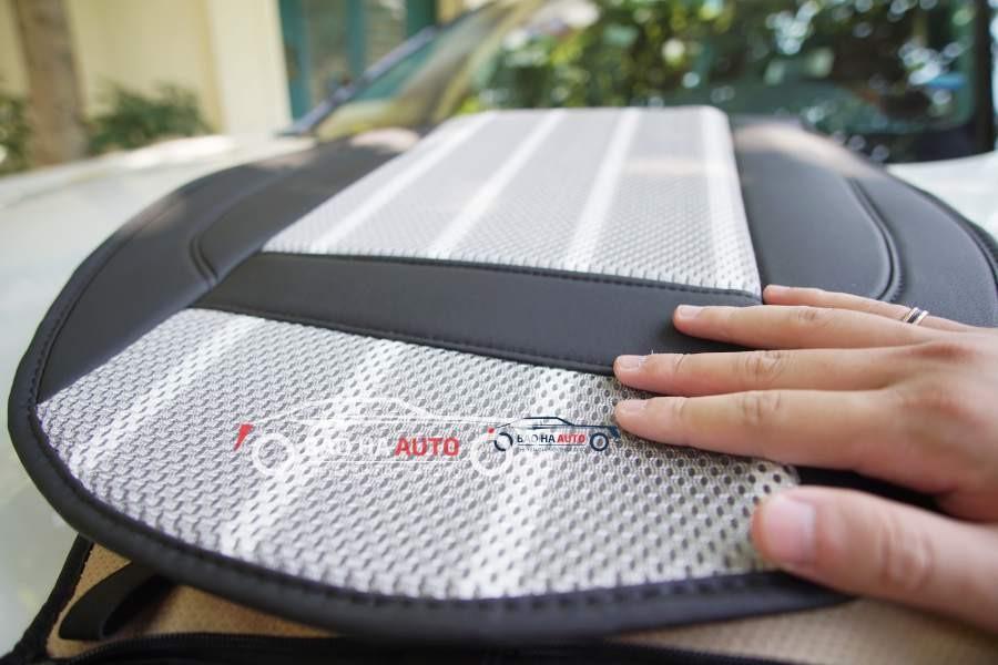 Đệm lót ghế massage và làm mát cho xe ô tô cao cấp