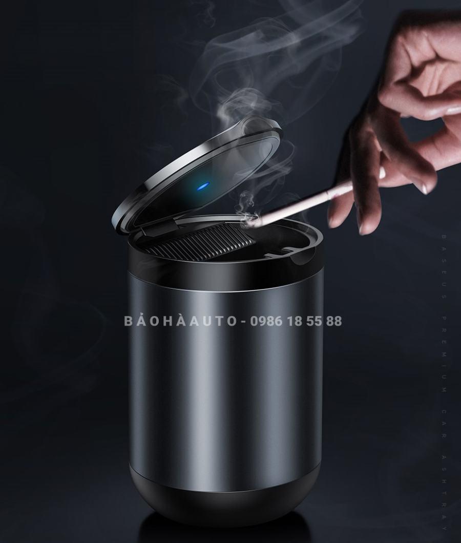 Gạt tàn thuốc có đèn Baseus cho xe ô tô chính hãng