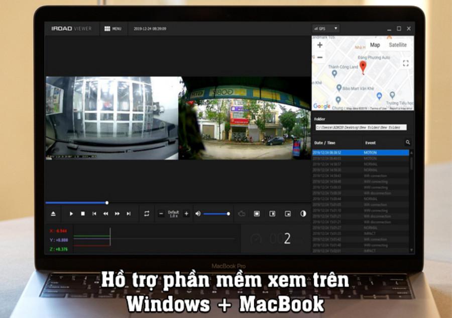 Camera hành trình Iroad X1 Hàn Quốc: Tính năng & Báo giá chi tiết