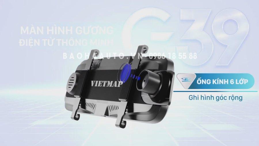 Giá Camera Hành Trình Vietmap G39 ghi hình trước sau chính hãng