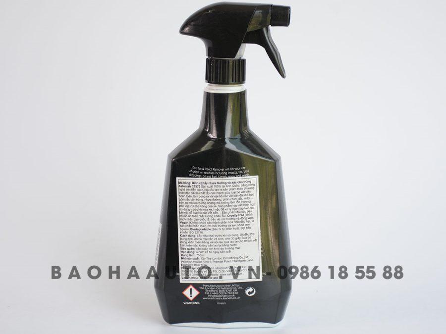 Giá chai xịt tẩy nhựa đường và xác côn trùng Astonish chính hãng
