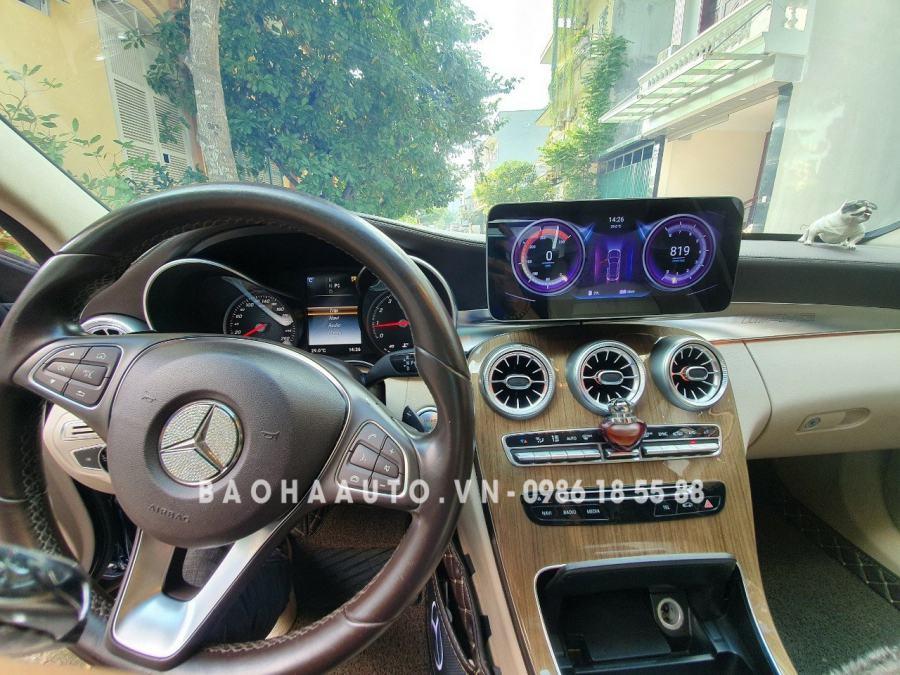 Màn hình DVD Android Mercedes: Bảng báo giá lắp đặt từ NSX chi tiết