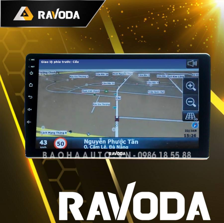Màn hình DVD Android RAVODA R1 giá rẻ chính hãng cho xe ô tô