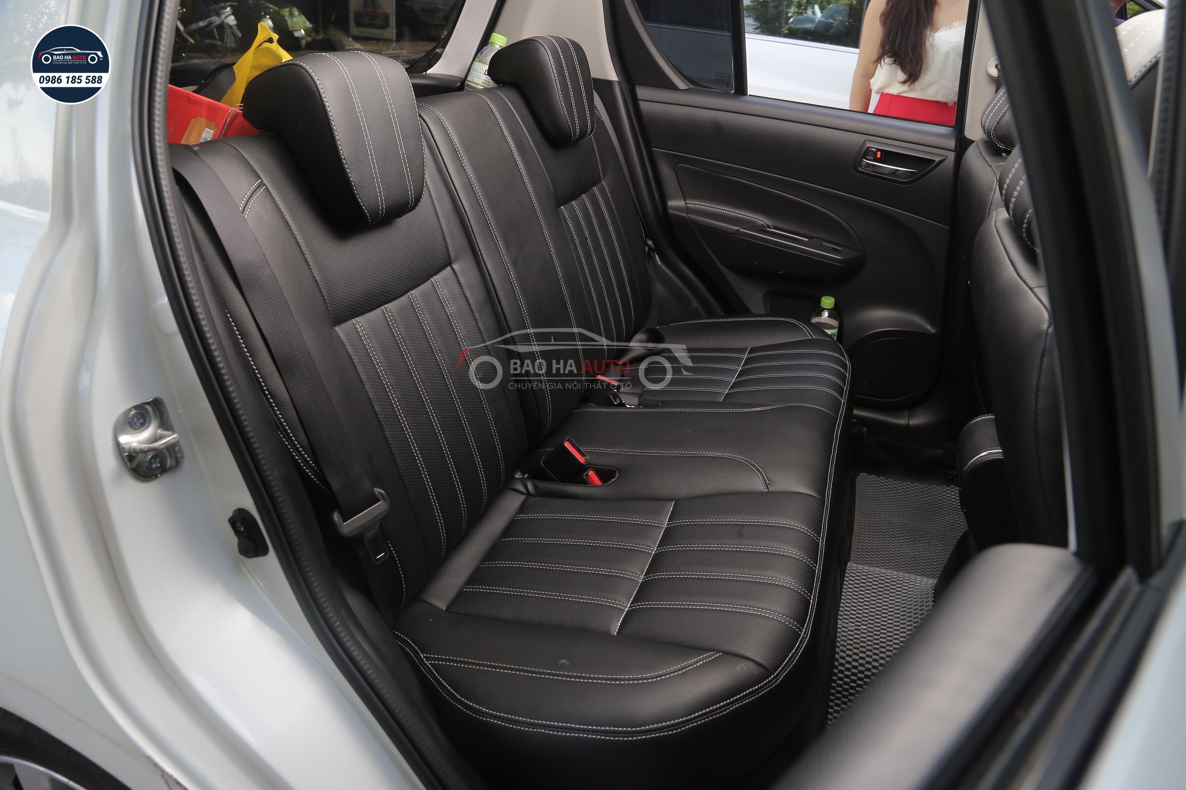 Mẫu bọc ghế da ô tô sang trọng, ấn tượng, bảo hành lên đến 7 năm