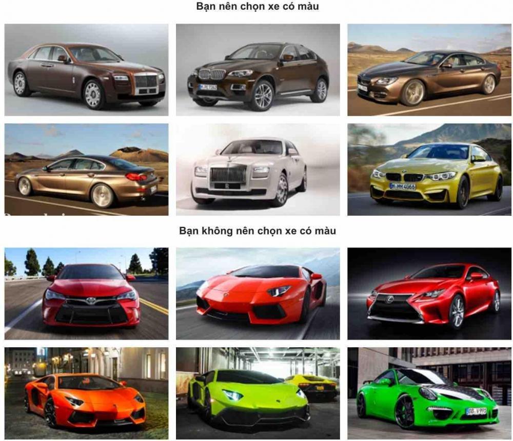 Người mệnh Kim chọn xe ô tô màu gì trong năm Canh Tý 2020?