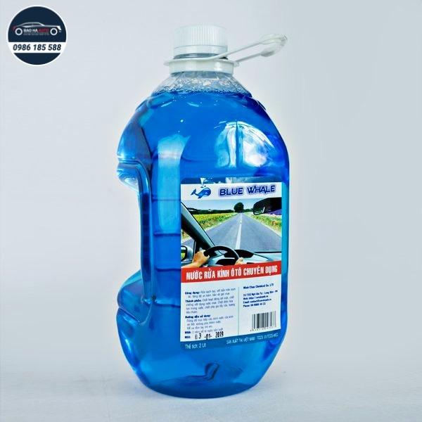 Nước rửa kính ô tô chuyên dụng Blue Whale
