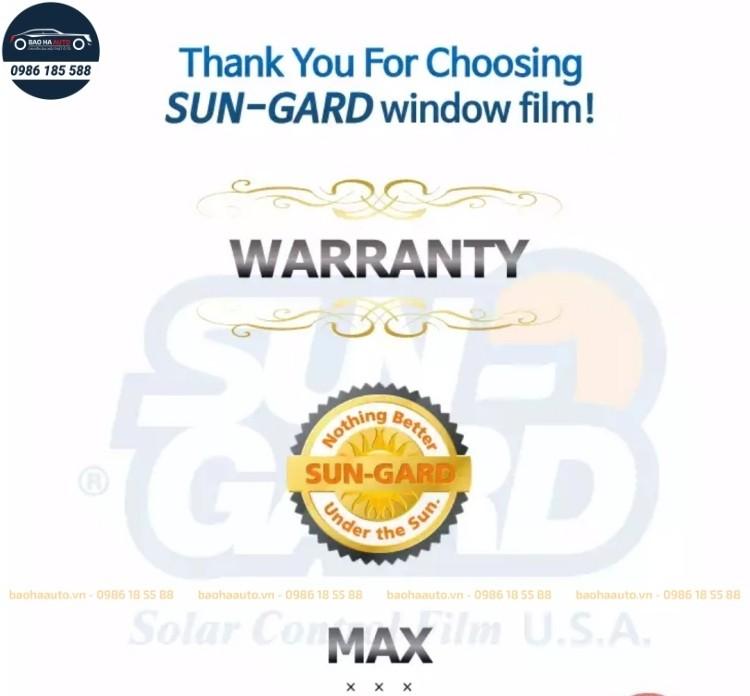 Phim cách nhiệt ô tô Sungard – Cool cao cấp (chính hãng, giá rẻ)