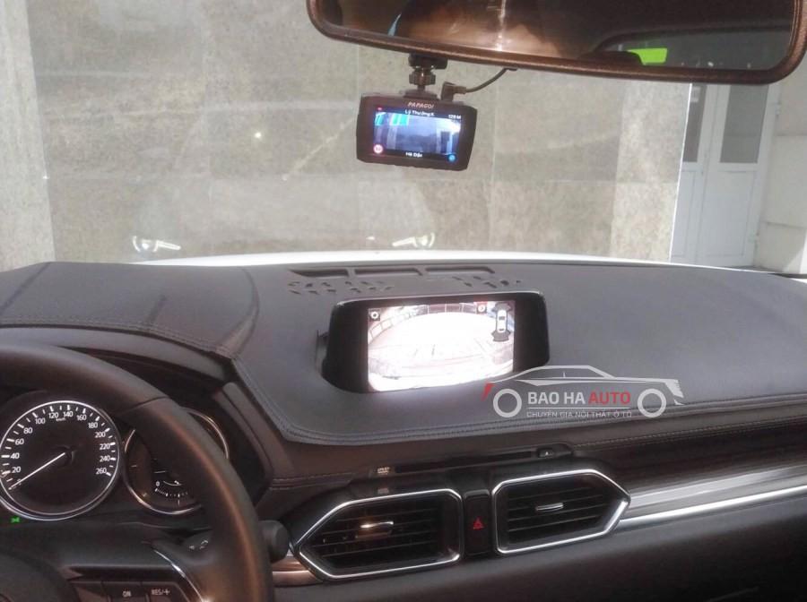 Thảm taplo da vân carbon chống nắng cho xe ô tô chính hãng