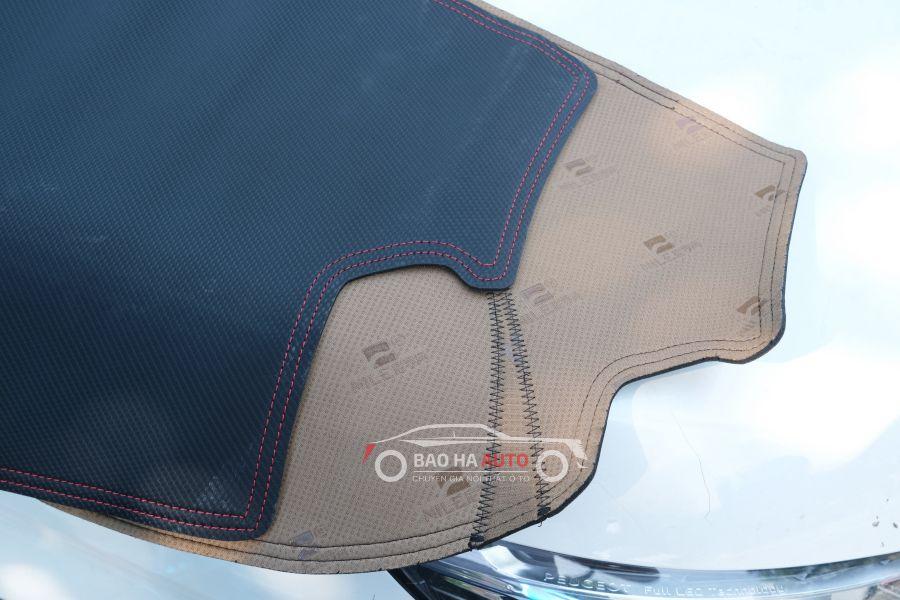 Thảm chống nắng taplo da vân carbon cho xe ô tô (giá tốt, chính hãng)