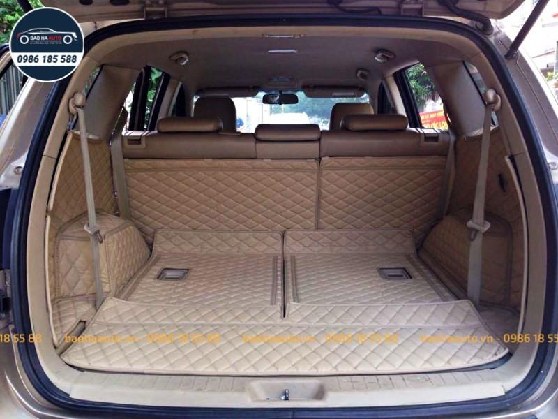 Thảm lót cốp ô tô da công nghiệp 5D xe Hyundai cao cấp (giá rẻ, đẹp)