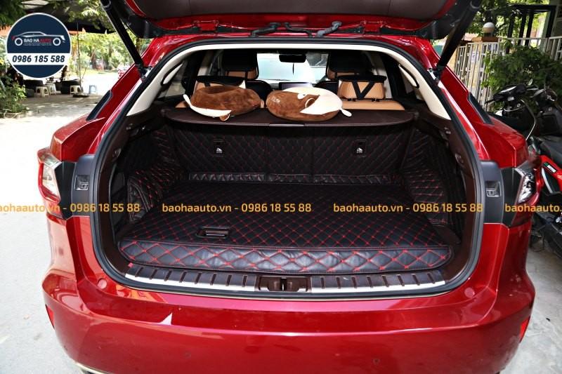 Thảm lót cốp da công nghiệp 5D xe Lexus cao cấp (giá rẻ, đẹp)