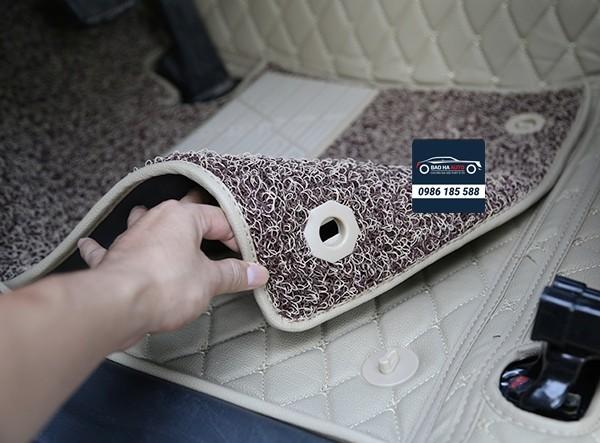 Thảm lót sàn ô tô da 5D 6D cho xe Honda (100% da cao cấp)