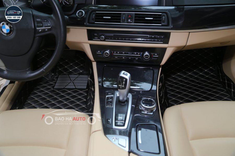 Thảm lót sàn ô tô da carbon cho xe BMW (cao cấp, giá rẻ)
