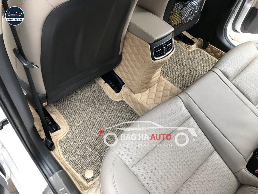 Thảm lót sàn ô tô da carbon cho xe Hyundai (giá rẻ, tiện ích)