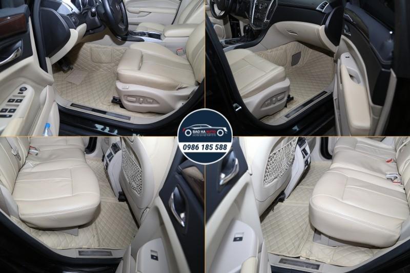 Thảm lót sàn ô tô da công nghiệp cho xe Cadillac (100% cao cấp)