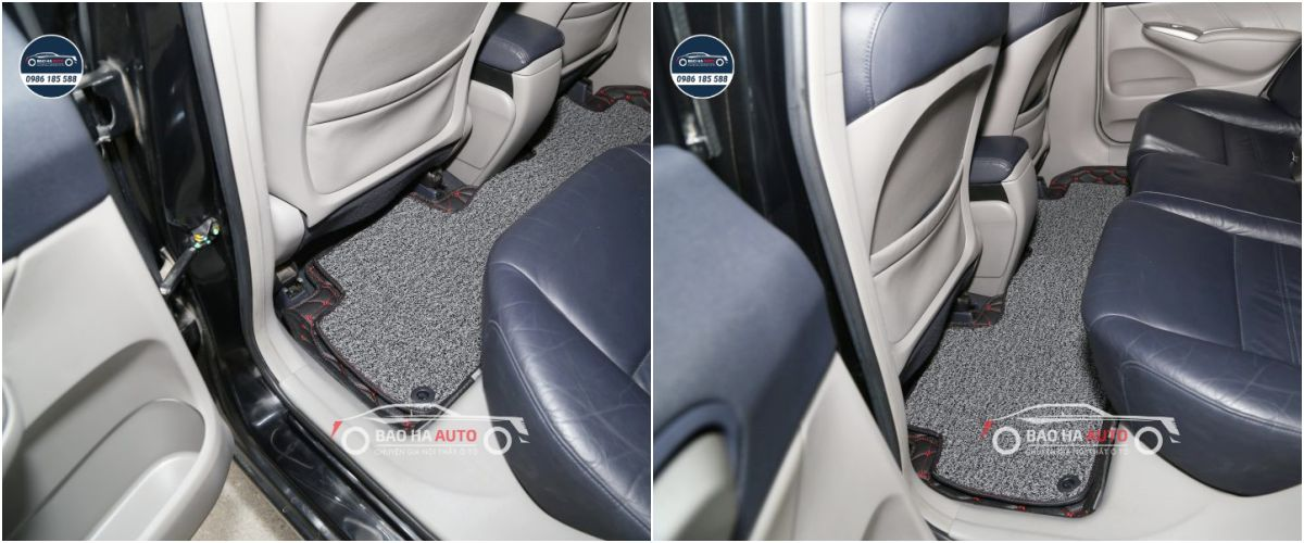 Thảm lót sàn ô tô da công nghiệp cho xe Honda (100% da cao cấp)