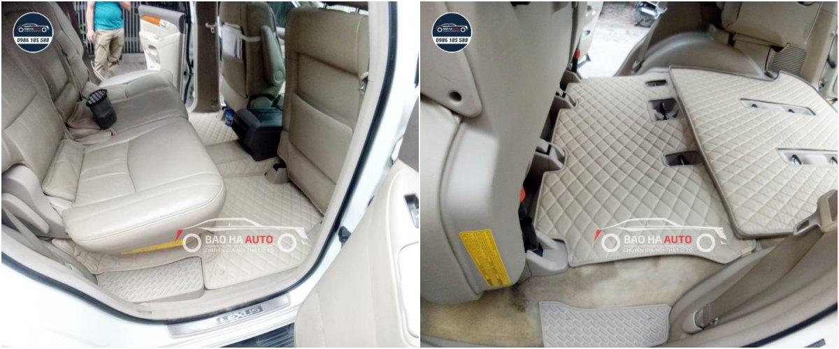 Thảm lót sàn ô tô da công nghiệp cho xe Lexus (sang trọng, giá rẻ)