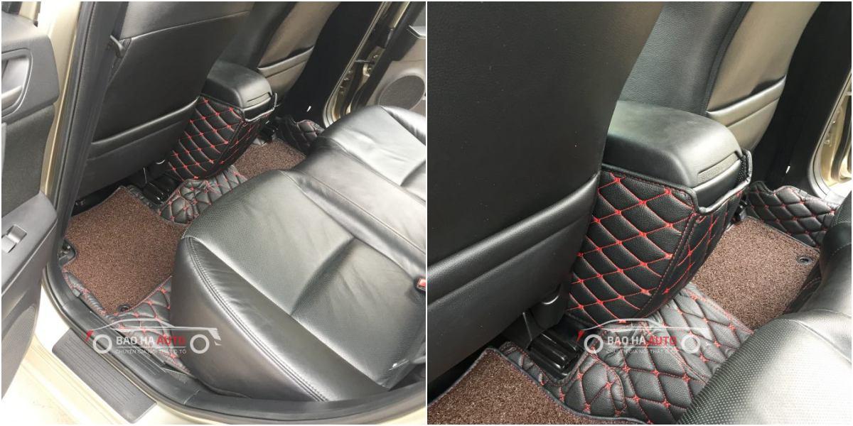 Thảm lót sàn ô tô da công nghiệp cho xe Mazda (100% da cao cấp)