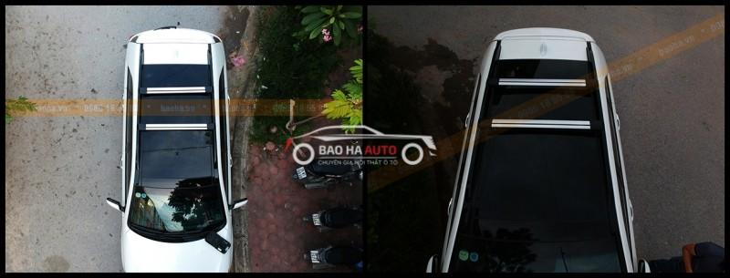 Thanh giá nóc ngang kiểu B – dành cho các xe đã có thanh giá dọc thấp