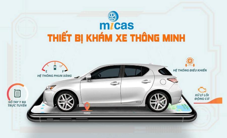 Thiết bị khám xe ô tô Micas phát hiện 70.000 lỗi cơ bản của xe