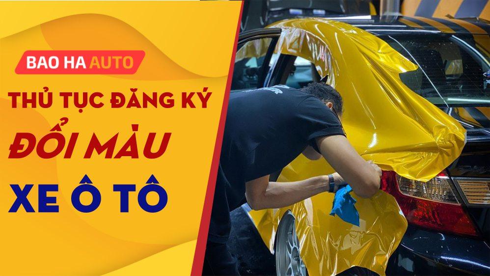 Dán Decal Wrap đổi màu xe ô tô uy tín tại Hà Nội – Báo giá chi tiết từ NSX