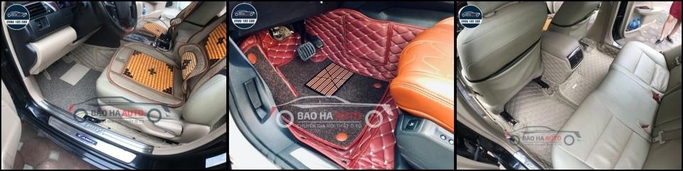 Vô tiền khoáng hậu tại Bảo Hà Auto – Mua thảm sàn tặng ngay lót rối