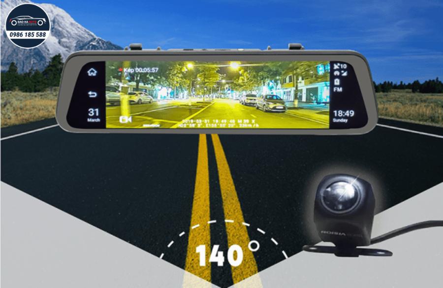Webvision M39X  – Camera hành trình gương giám sát trực tuyến